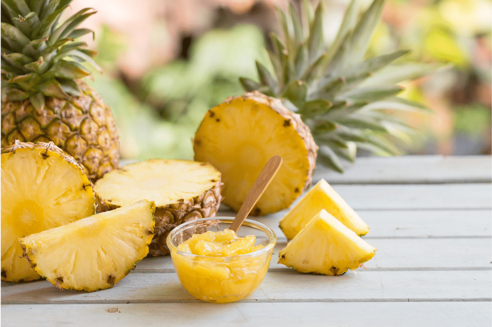 PINEAPPLE-Remedies for sore throat